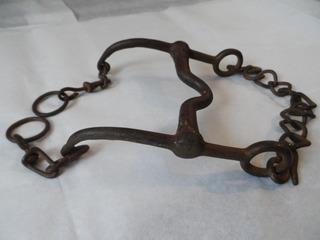 Freno Antiguo De Charreria De Colección Para Caballo Fino