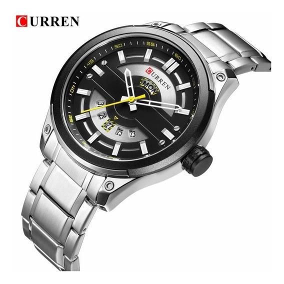 Relógio Nibosi Luxo Original Funcional Promoção Frete Gratis