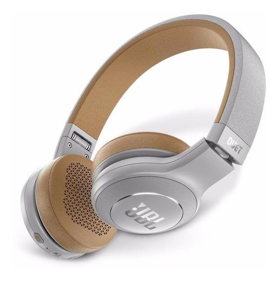 Headphone Fone Jbl Duet Gry Bluetooth Prata Jblduetbtgry