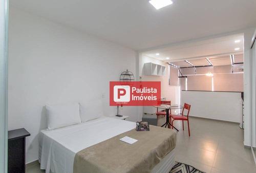 Apartamento Para Alugar, 30 M² Por R$ 3.880,00/mês - Vila Olímpia - São Paulo/sp - Ap30541