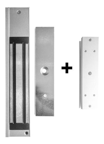 Cerradura Electromagnética Ca 280 Kg + Herraje U, Blindex