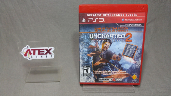 Uncharted 2 Among Thieves Game Of The Year Edition Para Ps3