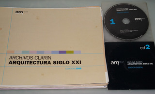 Arquitectura Siglo Xxl - Láminas Coleccionables + 2 Cds