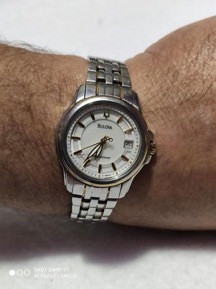 Relógio Bulova Precisionist Feminino De Dois Tons 98m112
