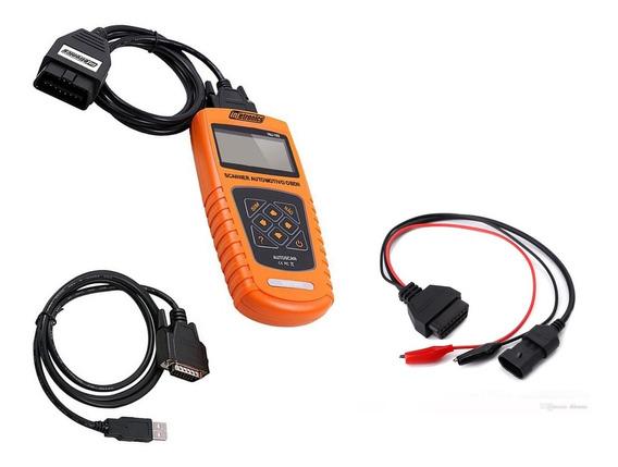 Scanner Automotivo Obdii Portug Injetronics + Cabo Fiat 3pin