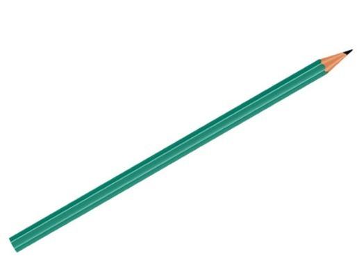 Lote De 2000 Lápis Verde Hb Brw Sextavado Para Papelaria