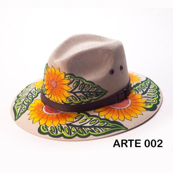 Sombreros Artesanales Pintados A Mano