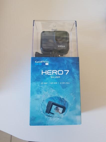 Gopro Hero 7 Silver - Lacrada Na Caixa