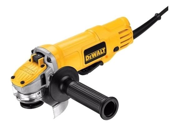 Esmerilhadeira angular DeWalt DWE4120 de 50Hz/60Hz amarela 220V