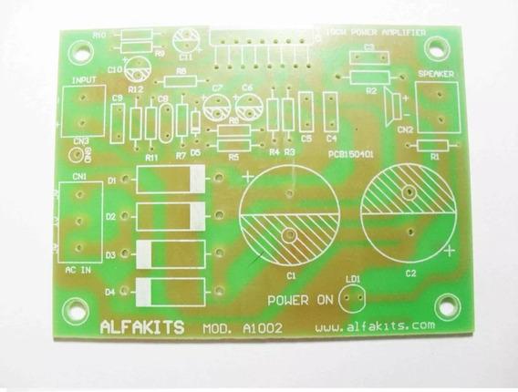 Placa Amplificador 100w Rms A1002 - Alfakits