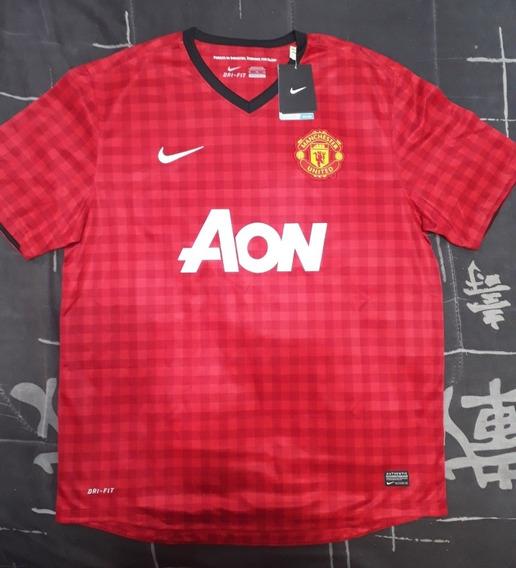 Camiseta Manchester United 2012 Nueva, Orginal Con Etiquetas