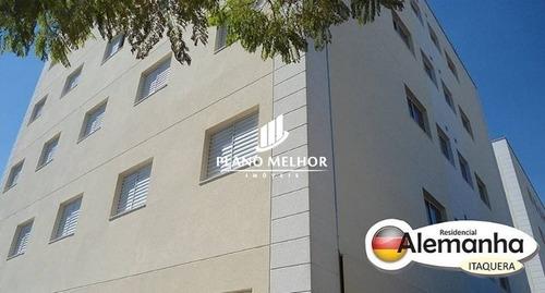 Imagem 1 de 11 de Apartamento Em Condomínio Padrão Para Venda No Bairro Vila Taquari, 2 Dorm, 0 Suíte, 1 Vagas, 45 M.ap1039 - Ap1039
