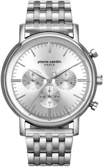 Reloj Pierre Cardin A.pc902371f07 Plateado Chrono De Hombre