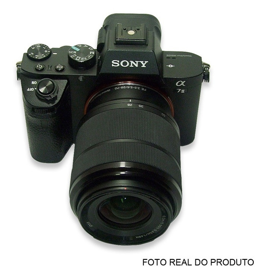Camera Sony Alpha7ll 24.3mp Lente Sony Fe 28-70mm F/3.5-5.6