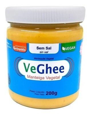Imagem 1 de 1 de Veghee Manteiga Vegana Sem Sal 200g