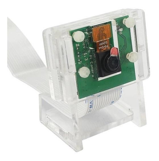 Gabinete Protector Acrilico Para Camara Rasperry Pi 3 V2