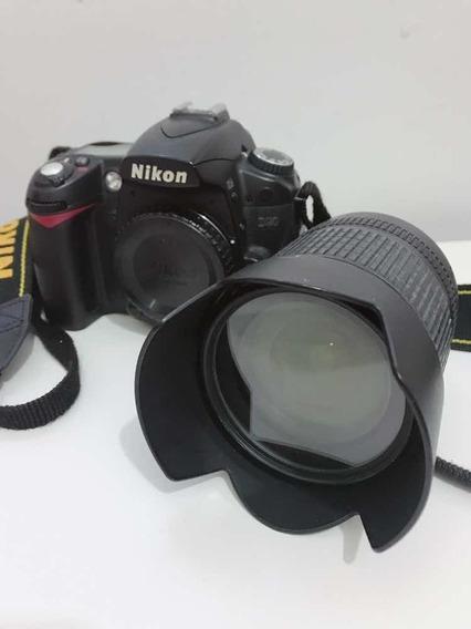 Câmera Nikon D90 + Lente 18-105mm + 2 Baterias E Carregador