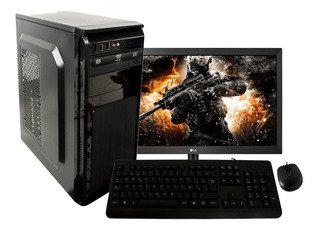 Computador Hg Intel Core I3 7th Disco 1tb 4gb Monitor Lg 20