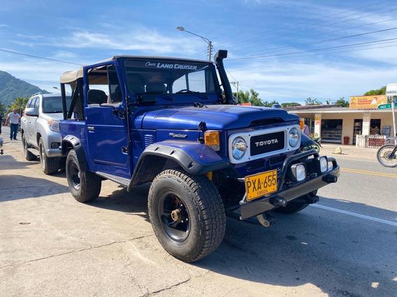 Toyota Fj40 1982, Azul 229.000kms