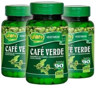 Kit Com 3 Cafe Verde Unilife 180 Capsulas