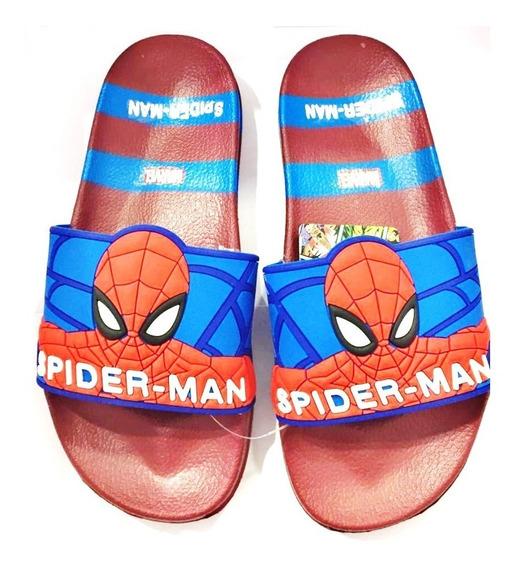 Ojotas Spiderman Marvel Comics Originales Fty Calzados