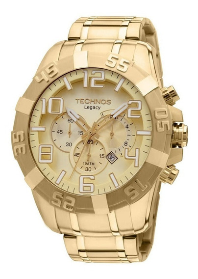 Relógio Masculino Technos Legacy Dourado Os20ik/4x
