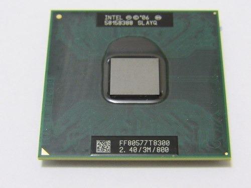 Processador Core 2 Duo T8300 (2.40 Ghz/3m/ Socket P 478)