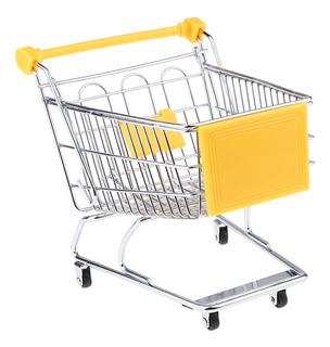 Carro De La Compra En Miniatura Supermercado Carretilla De