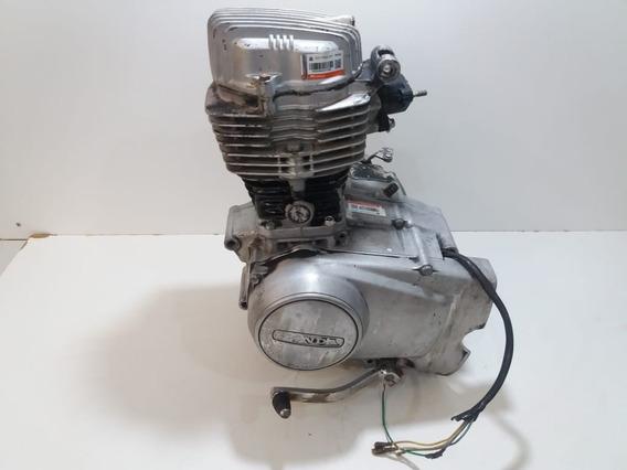 Motor Parcial Honda Cg 125 1987 5 Marchas Baixa Detran E Nfe