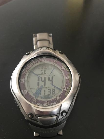 Reloj Casio Protrek Prg-70t Titanium Solar