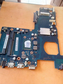 Placa Mae Notebook Samsung Np270e5e No Estado Ligando