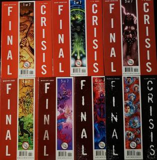 Dc - Final Crisis (1 Al 7 + Tie In) 27 Tomos / Completo