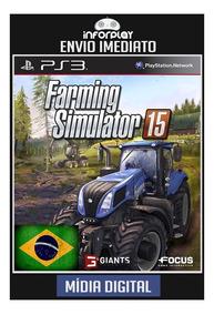 Farming Simulator 15 Pt-br Ps3 Psn Envio Imediato