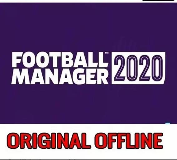 Football Manager 2020 Original - Offline - Envio Imediato