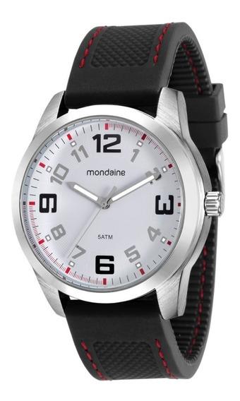 Relógio Masculino Mondaine Silicone Casual Original + Nf