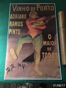 * Poster Original - Adriano Ramon Pinto - Vinho Do Porto *
