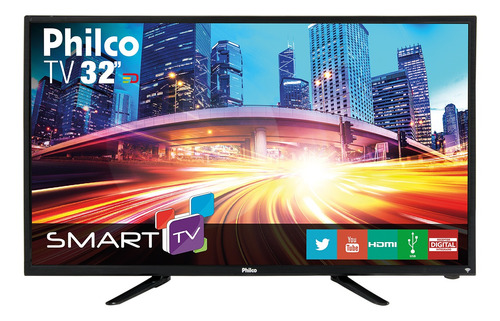 "Tv 32"" Led Philco Hd Smart - Ph32b51dsgwa"