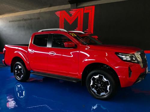 Imagen 1 de 14 de Nissan Frontier Platinum Le T/a Roja 2021