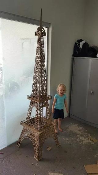 Torre Eiffel 2 Metros Preco Promocional De Outubro 19
