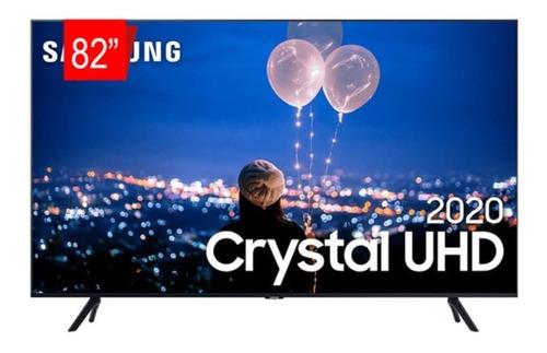 Imagem 1 de 4 de Tv 82 Samsung Smart Tv Crystal Uhd 4k U8000 Borda Ultrafina