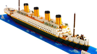 Nanoblock Titanic Juguete Architecture Rompecabezas Regalo