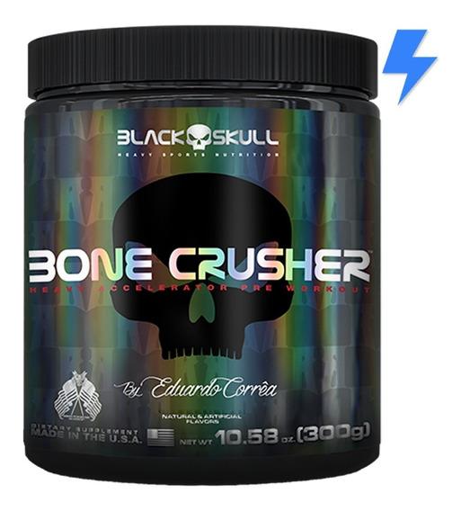 Bone Crusher 300g / 60 Doses - Black Skull (pré-treino)