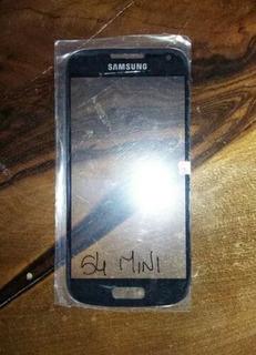Vidrio Visor Táctil Samsung S4 Mini Precio Colocado Con Gel