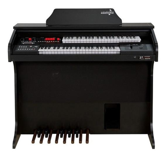 Orgão Eletrônico Harmonia Hs 75 Preto Fosco R1302
