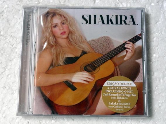 Cd Shakira (2014) De Luxe Edition Novo Original Lacrado!!