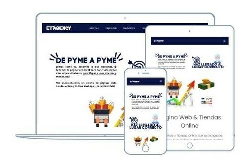 Imagen 1 de 5 de Diseño Paginas Web   Landing Page   Tiendas Con Webpay