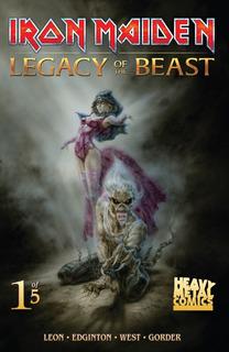 Colección De Comics De Iron Maiden El Legado De La Bestia