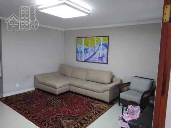 Casa Com 3 Dormitórios À Venda, 150 M² Por R$ 600.000,00 - Serra Grande - Niterói/rj - Ca1297