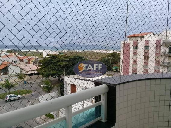 Apartamento Com 03 Dormitórios Para Aluguel Fixo, 80 M² - Bairro Braga - Cabo Frio/rj - Ap0656