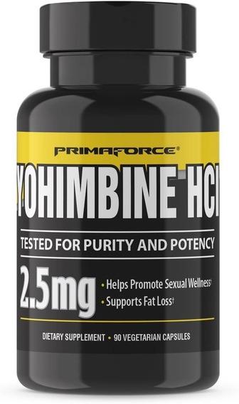 Primaforce Yohimbine 90 Count, 3 Pack